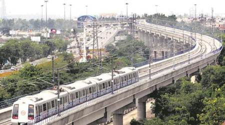 delhi metro, delhi metro fare, delhi metro gst, delhi government, dmrc metro fare, dmrc projects, indian express, delhi news