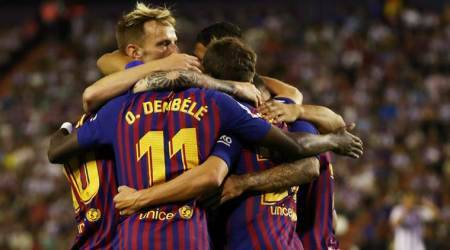 La Liga: Barcelona, Atletico Madrid scrape past newly promoted teams