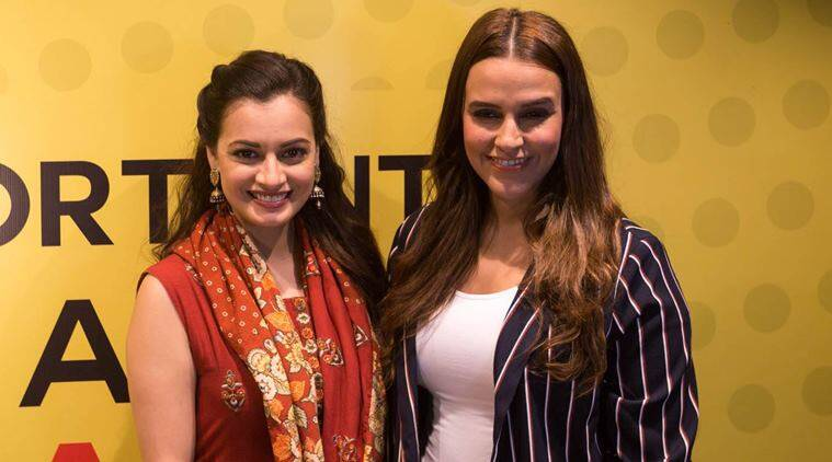 Dia Mirza - Neha Dhupia - Worldfree4u.com Happy Friendship Day