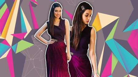 Diana Penty's vibrant Amit Aggarwal outfit is sure to wash away your monsoon blues