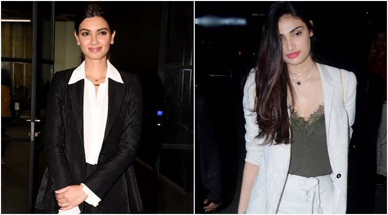 Diana Penty or Athiya Shetty: Who wore the pantsuit combo better?