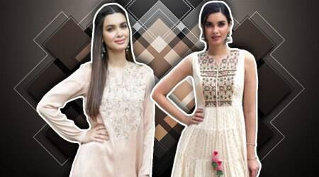 Diana Penty's breezy, traditional outfits have our vote ofapproval