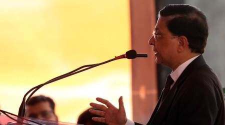 Easy to criticise… work hard in silence, let words make the noise, says CJI Dipak Misra