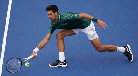 Racket-smashing Novak Djokovic reaches Cincinnati semifinals