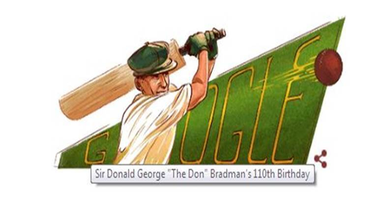 Sir Donald Bradman S 110th Birthday Celebrated With A Google