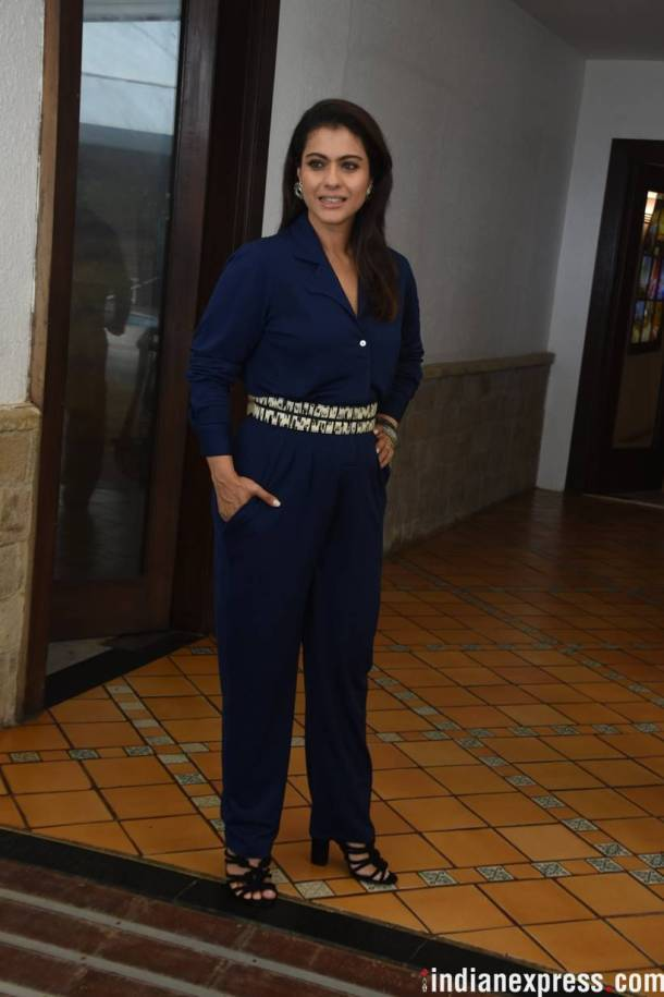 kajol at helicopter eela promotion