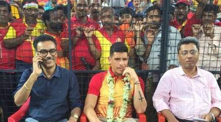 East Bengal goof up in Costa Rican Johnny Acosta'sunveiling