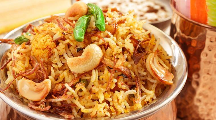 biryani, not a pulao, pulao, colleen taylor sen, vegetarian biryani, indian food, world vegtarian day, indian express, indian express news