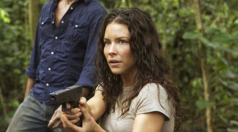 lost producers jj abrams J J Abrams and Damon Lindelof apologise to evangeline lilly for nude scene