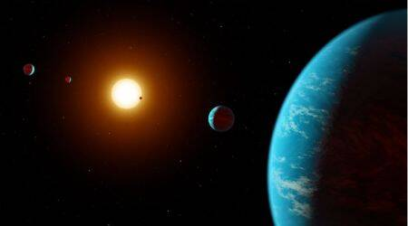 exoplantes,solar system, giant exoplanets, Jupiter sized exoplanets, astronomy discovery, exoplanet discovery, tech news, science news, Indian express