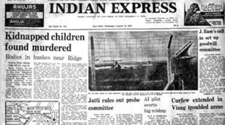 indian express, indian express forty years ago, forty years ago, chopra siblings murder, dhaula kuan murder, indian france mig aircraft deal