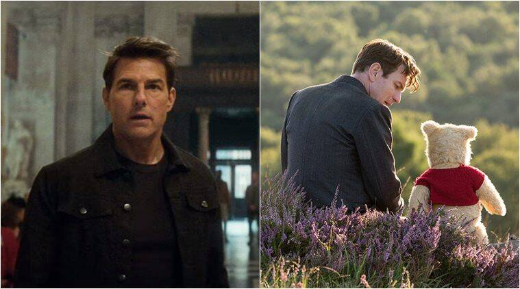 mission impossible fallout vs christopher robin at box office
