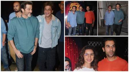 Shah Rukh Khan, Patralekhaa attend Fanney Khan special screening