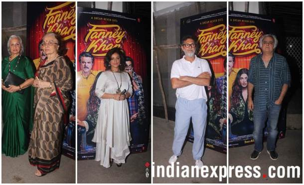 Fanney Khan special screening photos