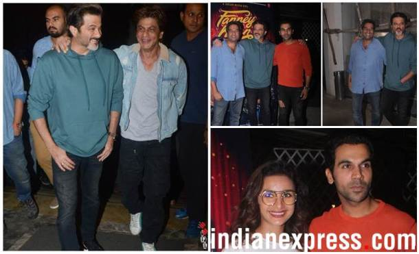 Fanney Khan special screening Shah Rukh Khan