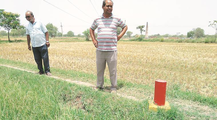Bullet tarin project: Kheda farmers threaten to uproot land pillars if not paid adequate compensation