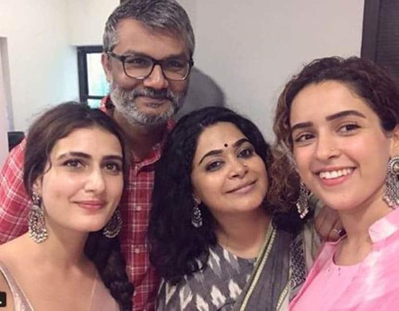 Fatima Sana Sheikh and Sanya Malhotra, Ashwiny Iyer Tiwari, husband Nitesh Tiwari