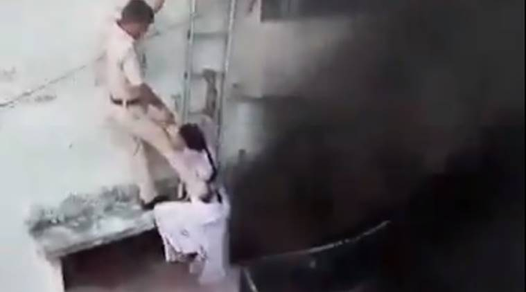 WATCH: Fire breaks out in building, Delhi Police save three in daring operation