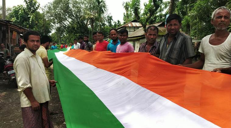India Independence Day, Assam longest tricolour