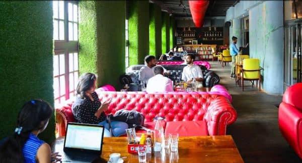 cowork, working Delhi, work cafe,