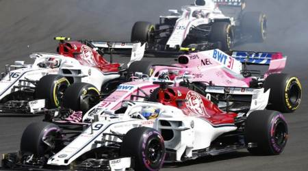 Uralkali sues administrators of Force India F1 team