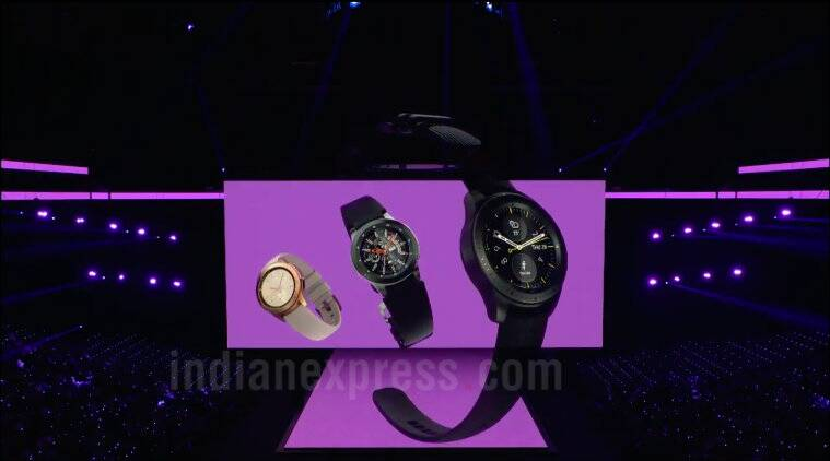 samsung galaxy watch, galaxy watch, galaxy watch featrues, galaxy watch specifications, bixby, samsung galaxy watch price, samsung galaxy watch price in india, samsung pay, exynos 7, samsung galaxy note 9, unpacked event, samsung