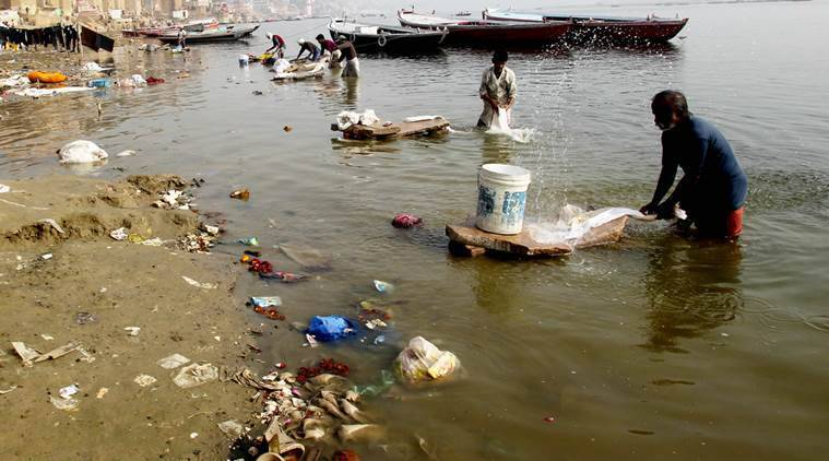 In CPCB map on Ganga water quality, more red than green
