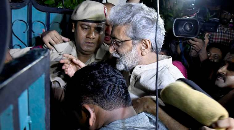 Elgar Parishad: Gautam Navlakha gets interim protection from arrest
