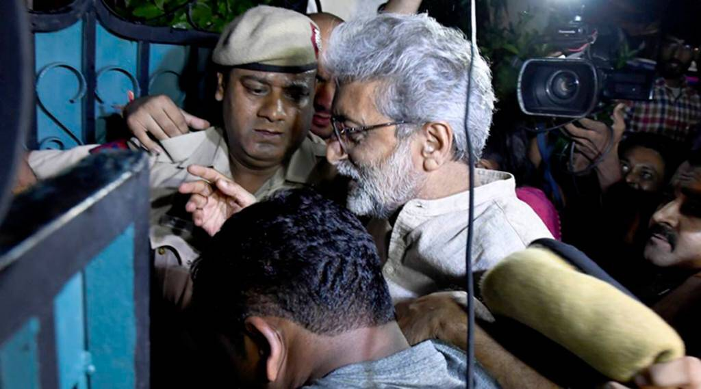 Gautam Navlakha arrest, delhi high court activist arrest, pune police activists, pune police navlakha, indian express, delhi high court activists, delhi high court navlakha, elgaar parishad, bhima koregaon
