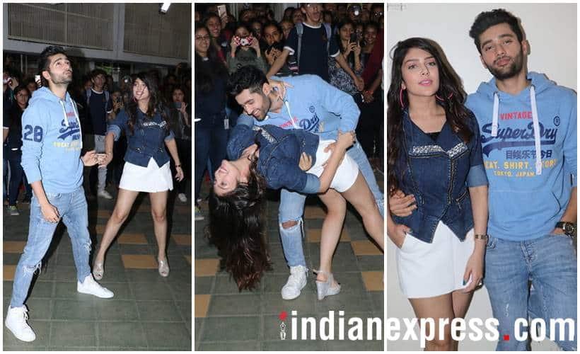 Genius actors Utkarsh Sharma and Ishita Chauhan