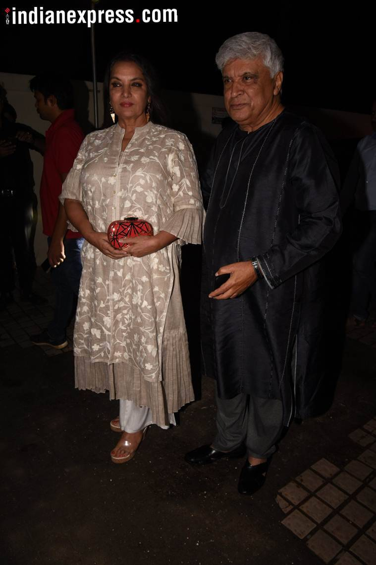 jawed akhtar and shabana azmi photos