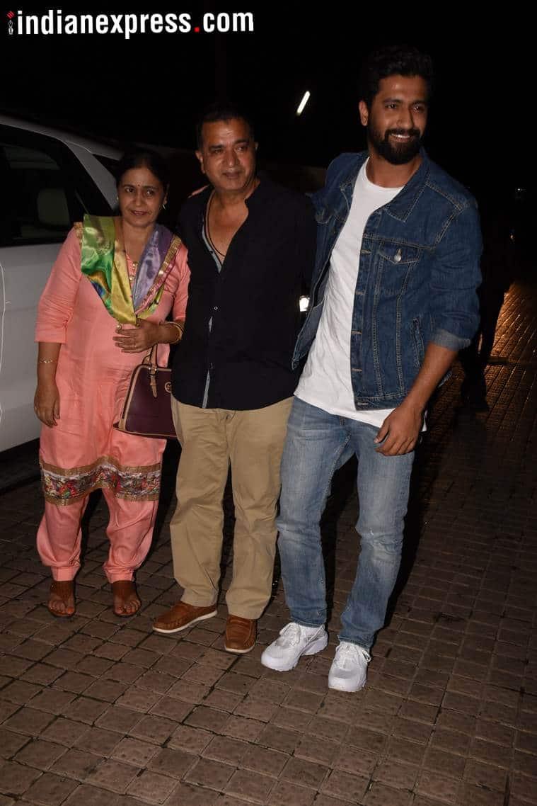 vicky kaushal at gold screening