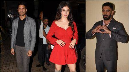 Gold screening: Mouni Roy, Vicky Kaushal and Amit Sadh among others in attendance