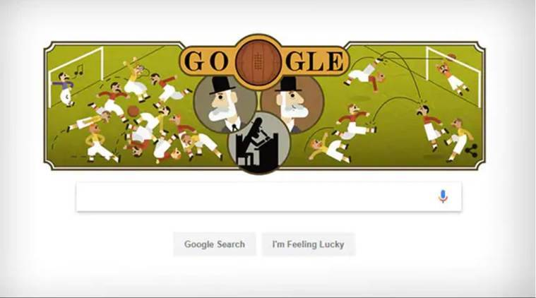 Google Doodle celebrates 187th birth anniversary of 'father of modern football' Ebenezer Cobb Morley