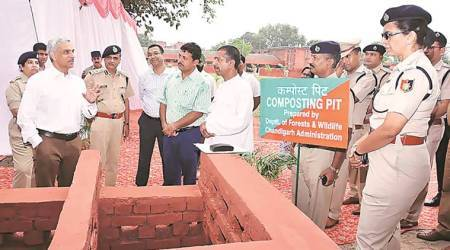 Police stations in Chandigarh to go green:DGP