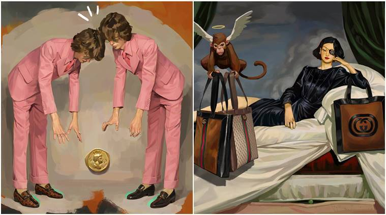 159f03b07886 From Gucci to Louboutin  12 times fashion designers turned to art ...
