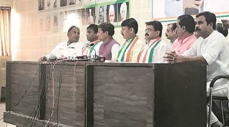 In tit for tat, BJP gains three Congress leaders from Banaskantha