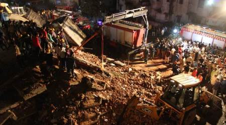 Ahmedabad: 10 feared trapped as four-storeyed building collapses in Odhav area