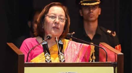 Manipur Governor Dr Najma Heptulla covid