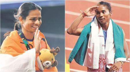 Asian Games: Hima Das and Dutee Chand mark silver streak on Jakarta track