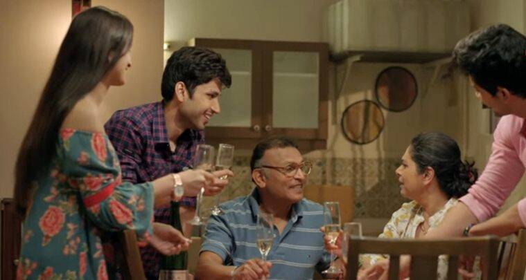 amol parashar in Home web series