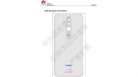 Huawei Mate 20 Lite schematics leaked, reveals dual rear-facing cameras and fingerprintscanner