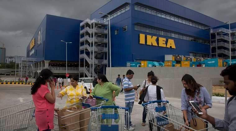 Ikea's sofas and spoons in demand as first India store opens