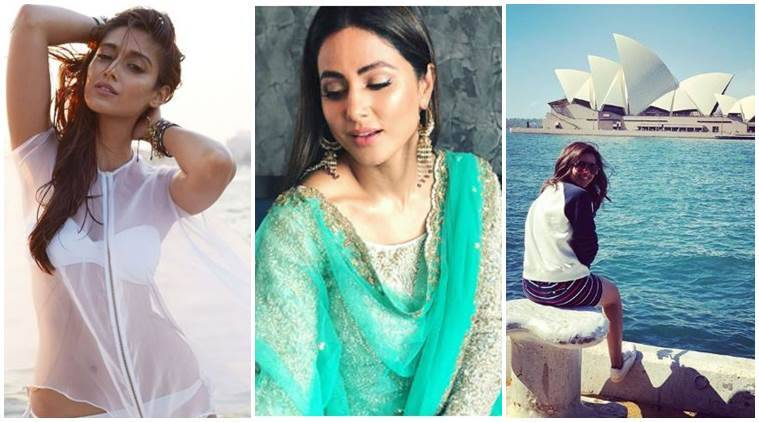 Ileana D'Cruz, Hina Khan and Parineeti Chopra social media photos