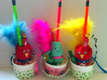 recycled craft, pencil holder, DIY craft for kids