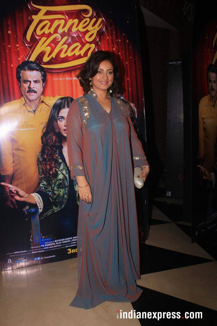 divya dutta at fanney khan screening