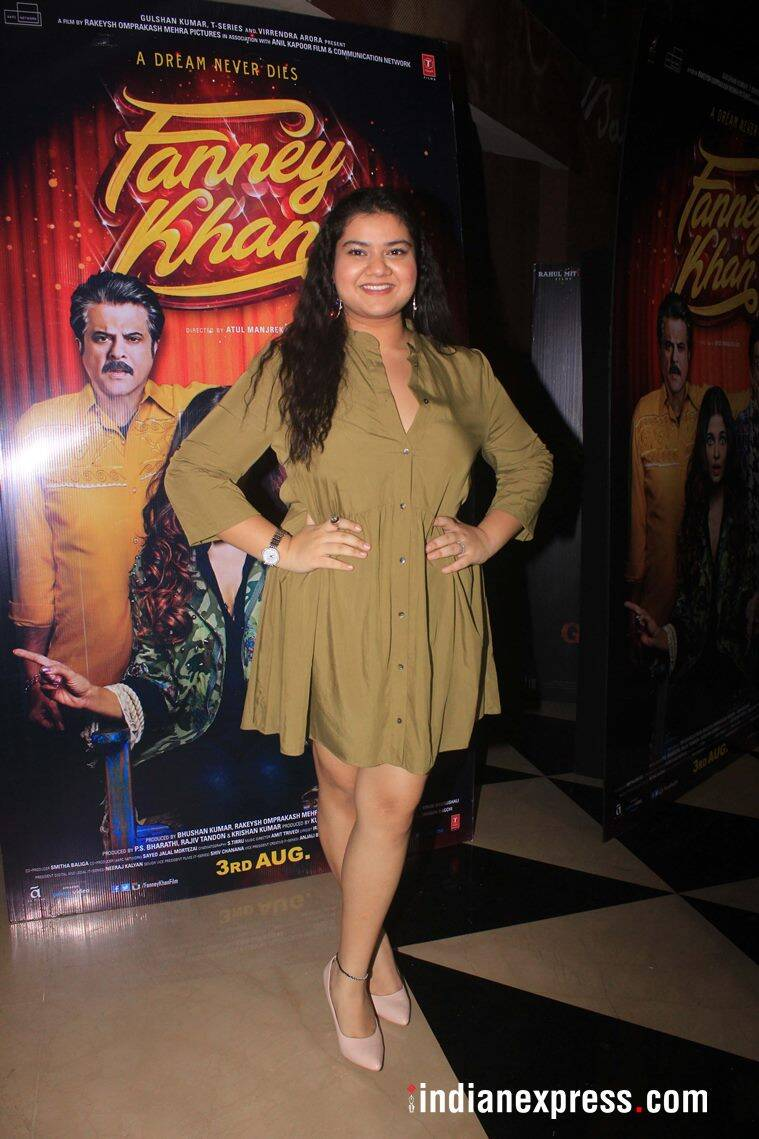 pihu sand at fanney khan screening