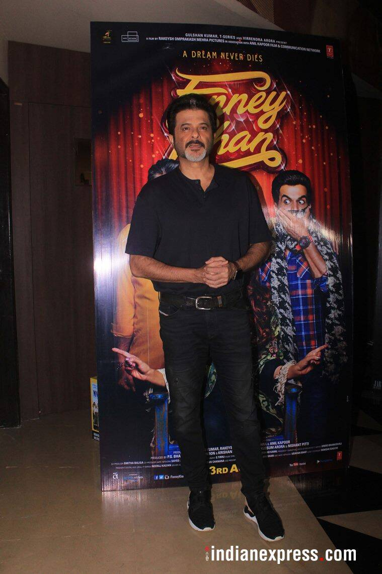 anil kapoor at fanney khan screening