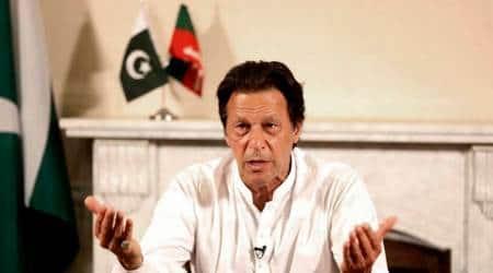 Pakistan Prime Minister Imran Khan.