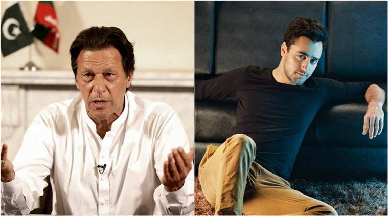 Imran khan actor Imran Khan Pakistan PM Imran Khan Imran khan gets wrong message Imran Khan confused with Pakistan PM indian express indian express news